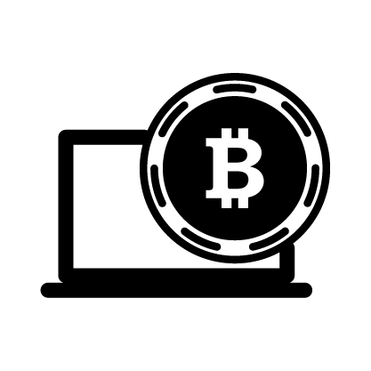 06 bitcoin and laptop
