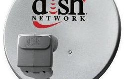 dish network logo on satellite dish-thumb-250x286