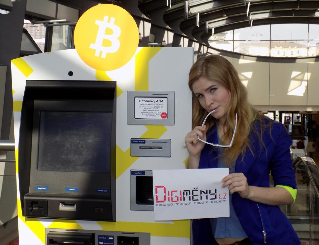 Natálie a Bitcoinový bankomat Brno