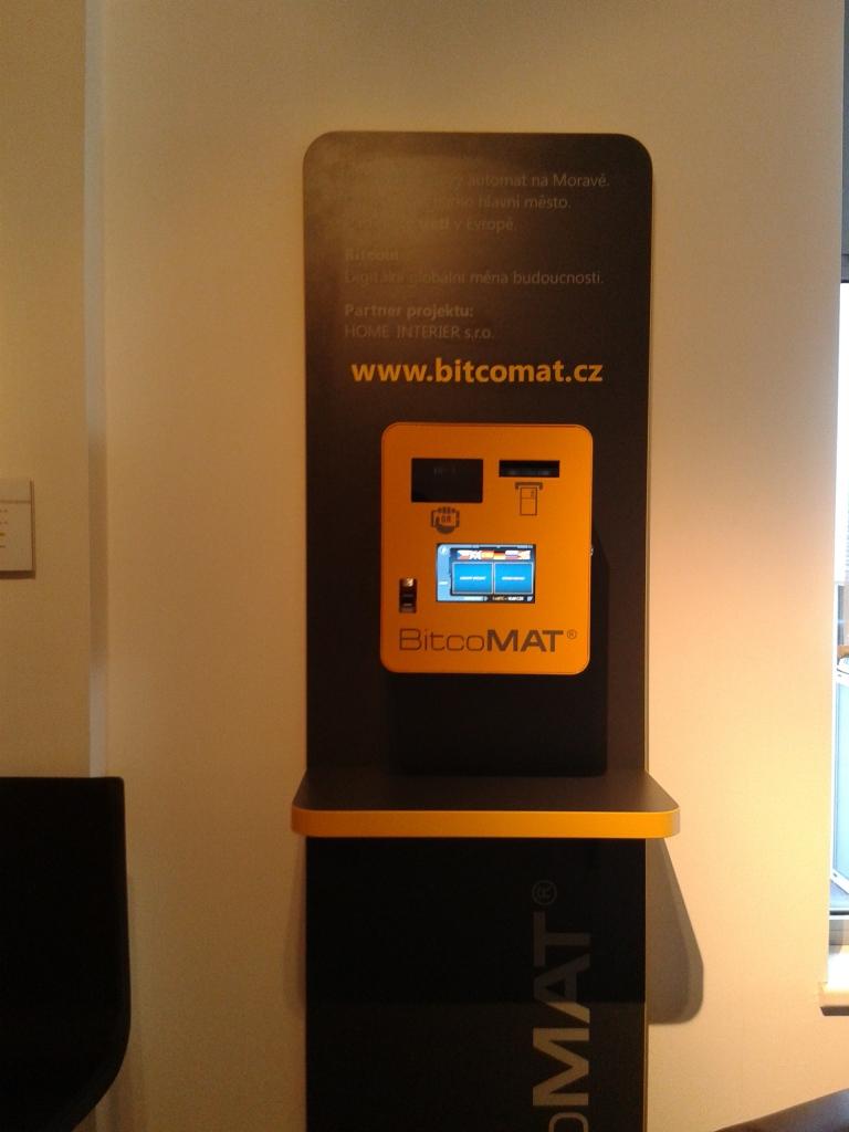 Bitcoinový automat Ostrava, Bitcoin ATM